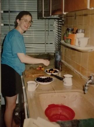 Carol cooking in Damascus 92