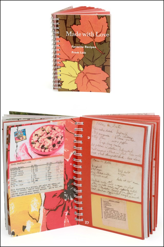 """""""Made With Love"""" cookbook of family recipes"""