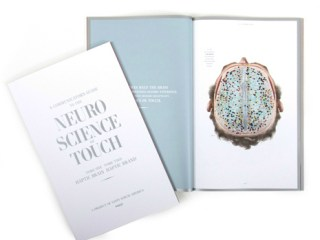 Sappi Fine Paper North America collaborated with Baylor College of Medicine neuroscientist Dr. David Eagleman, a world renowned expert in haptics—the science of communication and sensory perception involving touch—for a monograph titled Haptic Brain, Haptic Brand