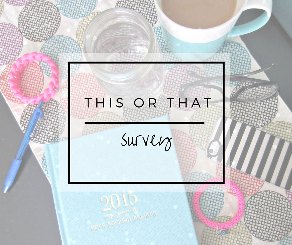 this or that survey