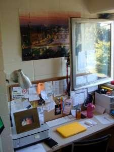 My dorm room!