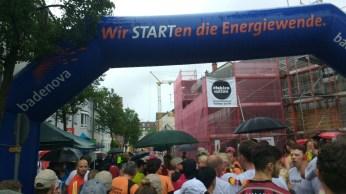 Stadtlauf starting gate