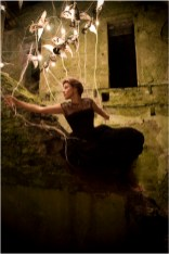 Alex is a Dreamer, Alex Randall lights, photographs Claire Rosen