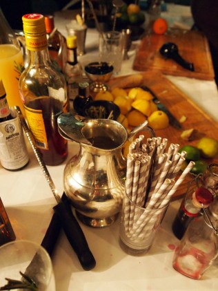 Cocktail ingredients, South Place Hotel