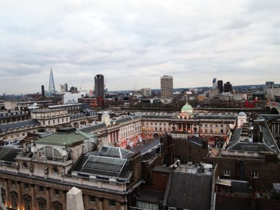 Rooftop view, ME London