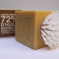 Marius Fabre soap and brush