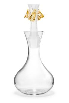 Abeilles - Carafe millesimee 2015 - fond blanc