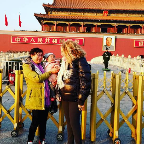 Tiananmen Square Photo Op