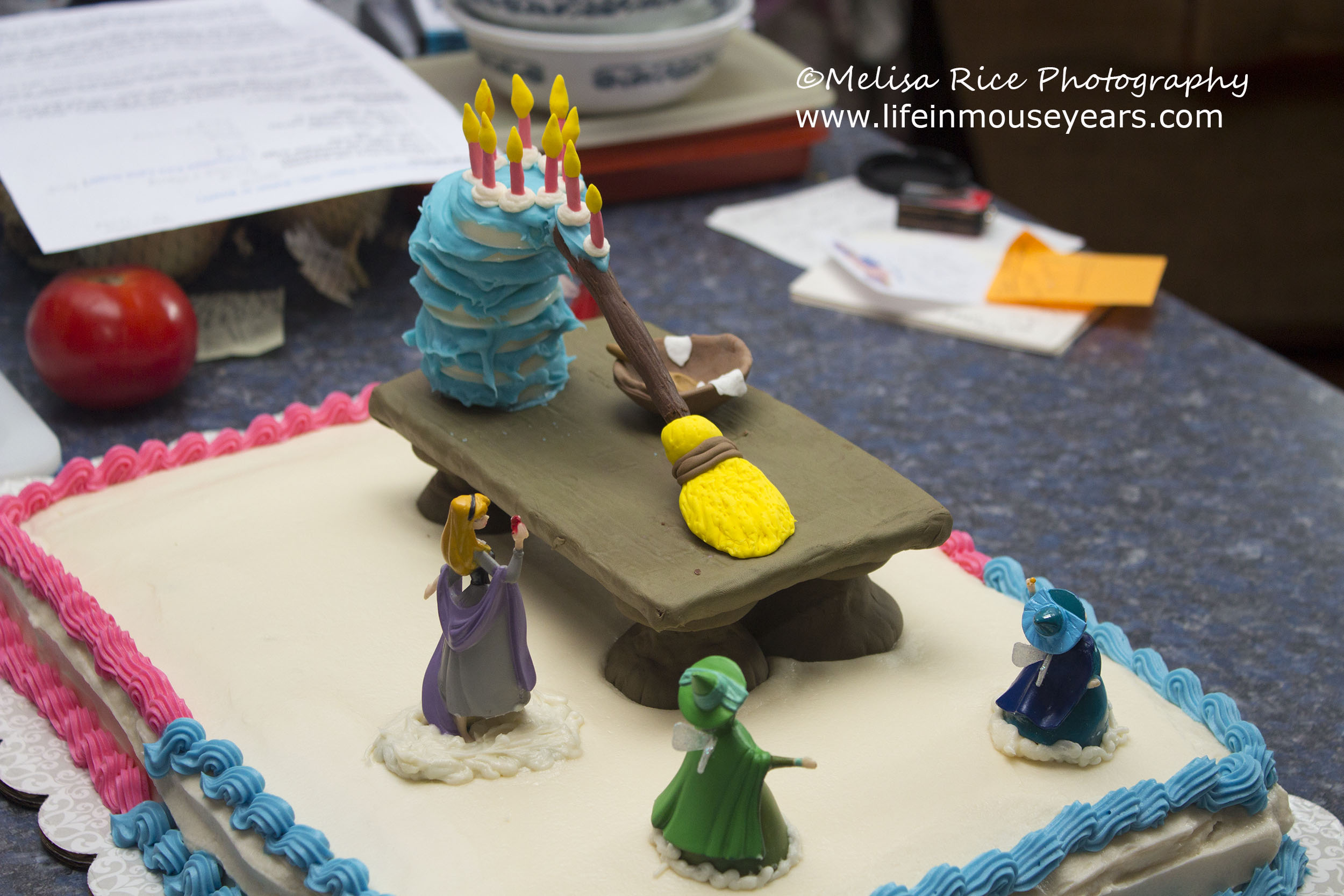 Sleeping Beauty Cake Life In Mouse Years