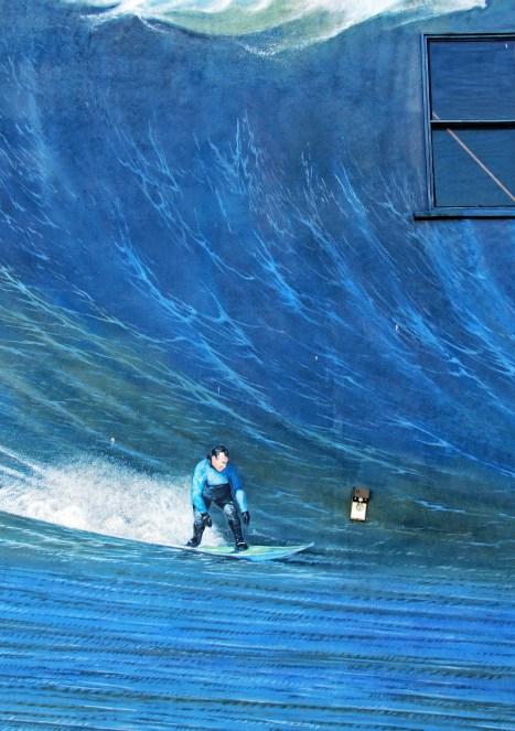 Surf Mural detail