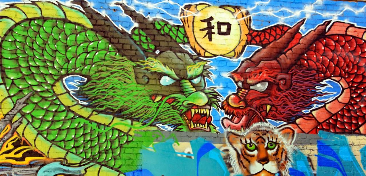 Dragon mural better