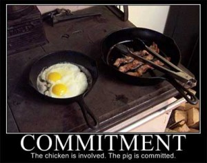 Are you truly committed? 1