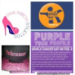 Get Involved, Show Your Support- World Cancer Day