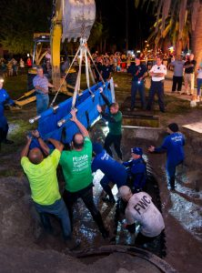 SeaWorld_Animal_Rescue_Team_assists_with_the_rescue_of_19_Manatees_out_of_drainage_pipe