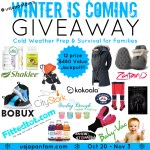 Enter to Win because Winter is Coming