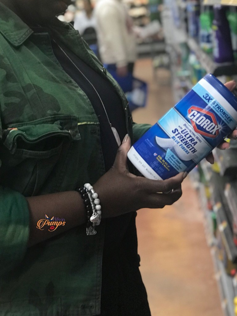 Clorox Wipes - spring cleaning- life in pumps- #cleanisthebeginning- walmart-