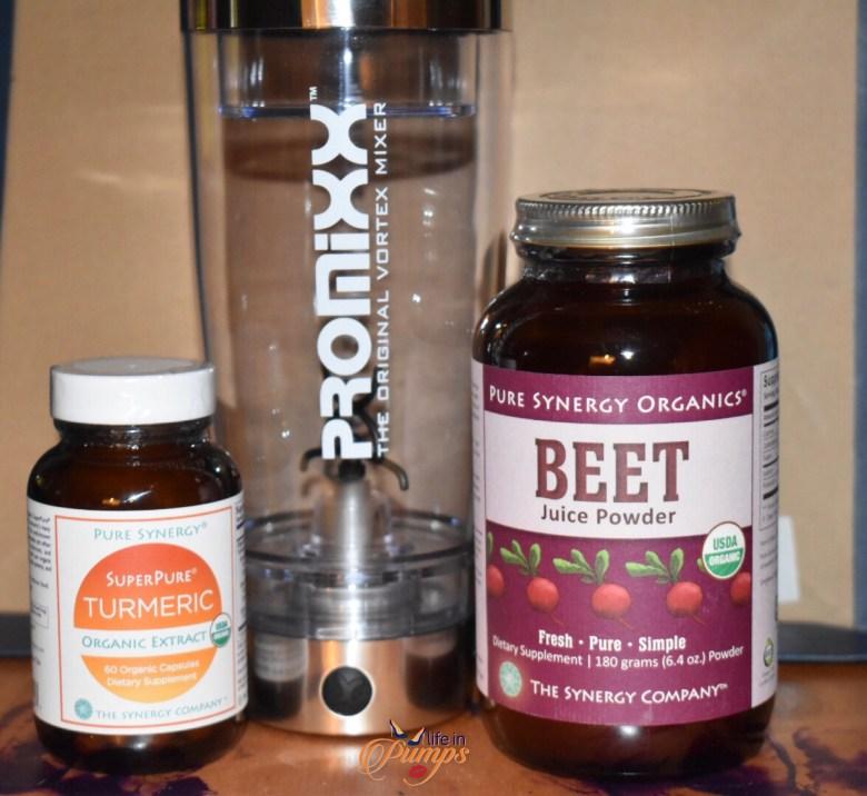 beet root, turmeric, life in pumps, promixx,vitamin