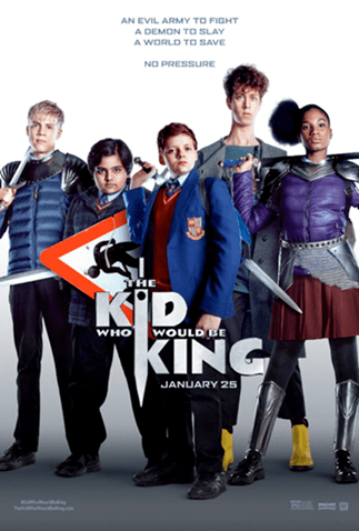 The Kid Who Would Be King Giveaway 1