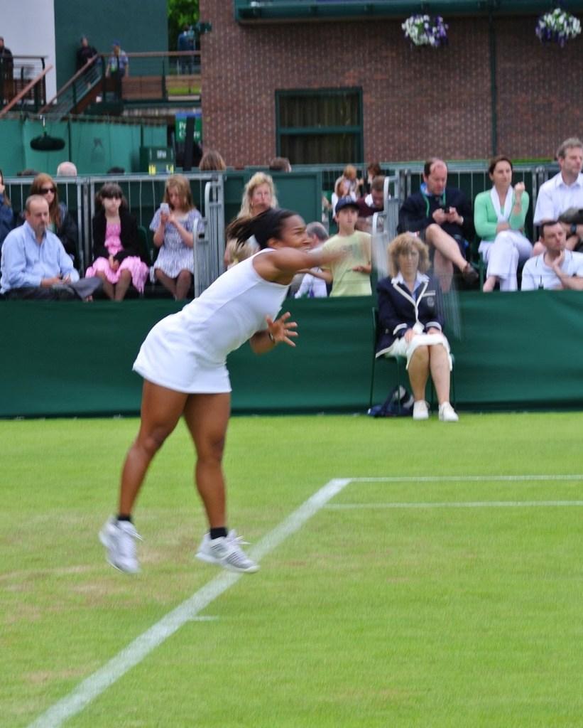 brown girls in tennis.