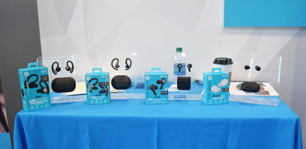 JBud earphones CEWeek NYC