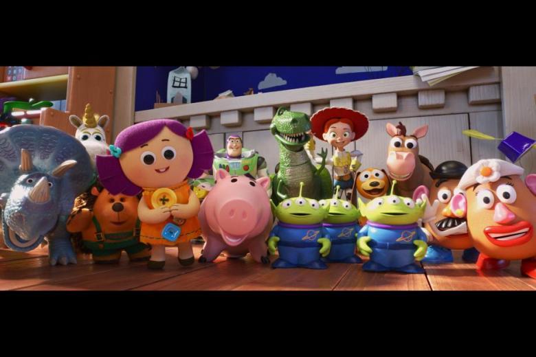 Toy Story 4 Characters. Disney Pixar