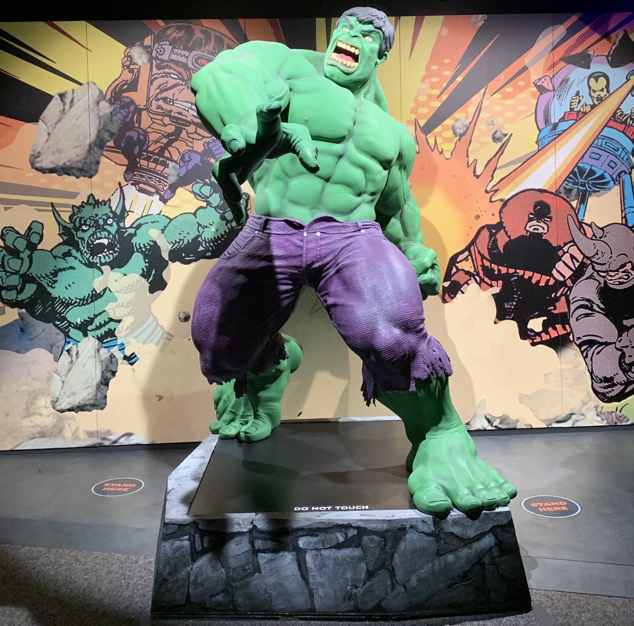 Hulk Figure at the Franklin Institute