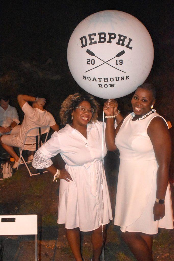 brown girls at Diner en Blanc Philadelphia