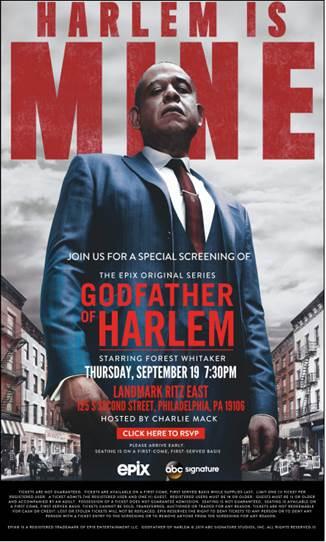 Godfather of Harlem Movie Poster