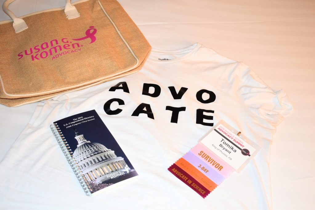 Susan G Komen Advocacy Summit in Washington DC for Breast Cancer