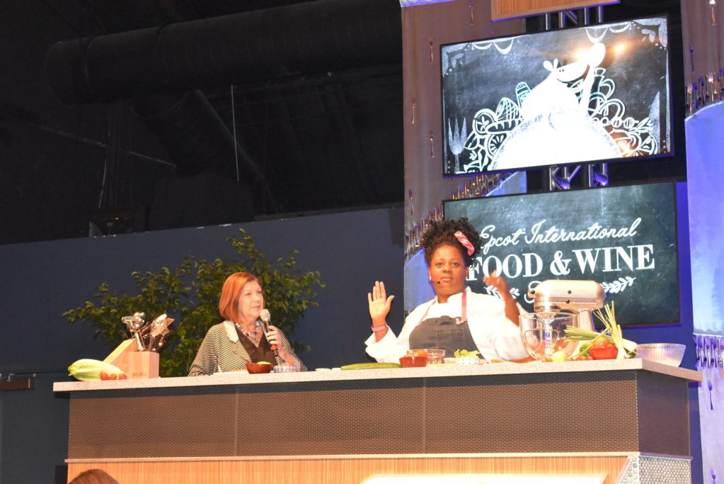 Mix It, Make It, Celebrate It with Chef Jennifer Hill Booker is a seminar offered at Epcot's International Food and Wine festival. #TasteEpcot