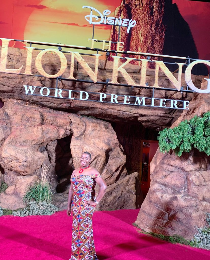 Lion King World Premier Red Carpet