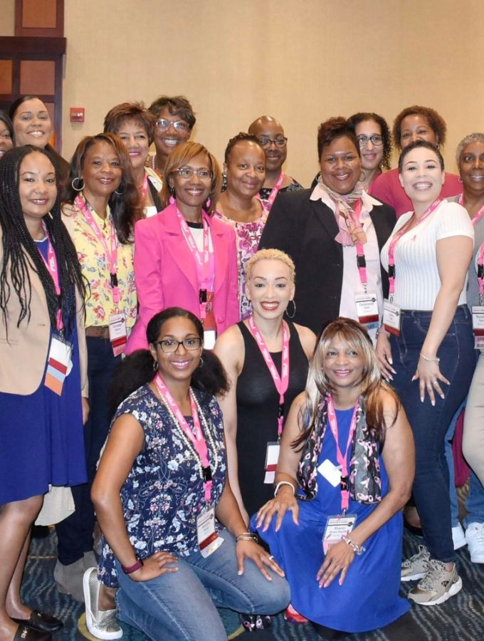 Black girl magic at the Komen lobby day