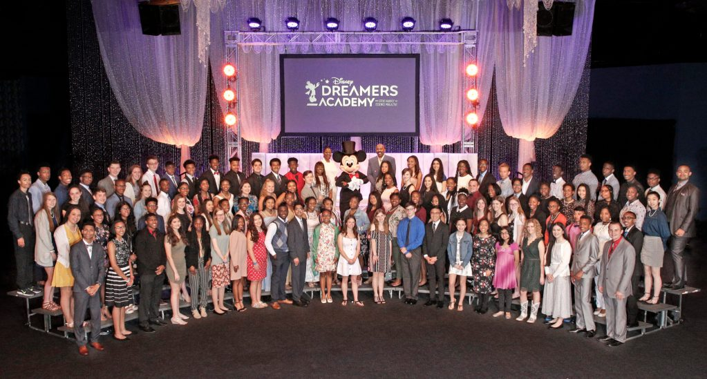 Disney Dreamers academy 2019 class with Steve Harvey