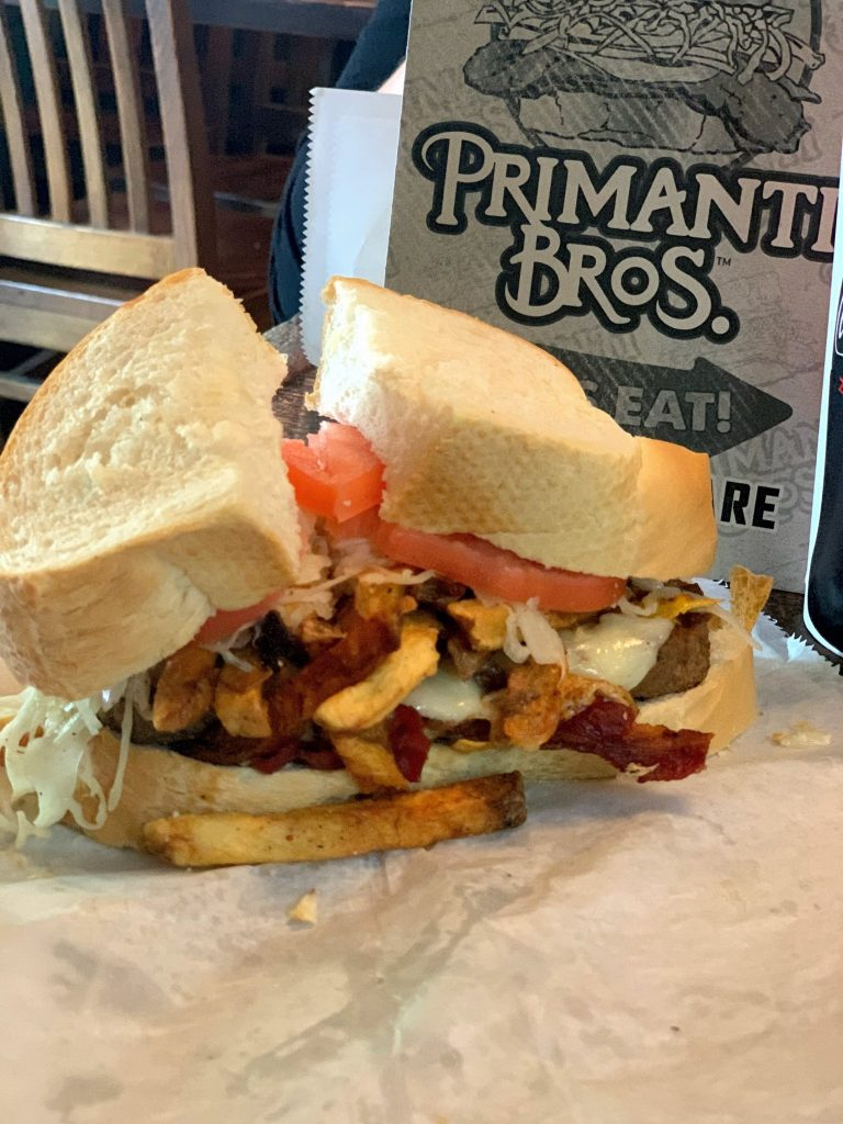 Primanti Brothers Pittsburgh Solo travel dining