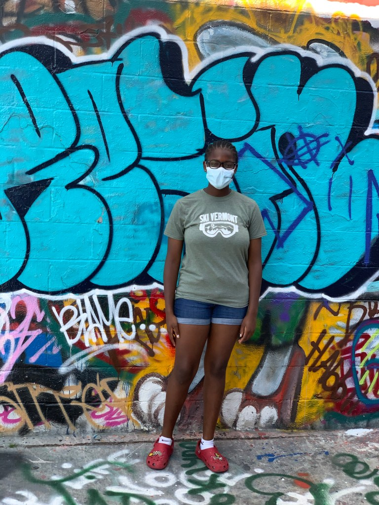 graffiti alley, family road trip, what to do in  Baltimore, brown girl