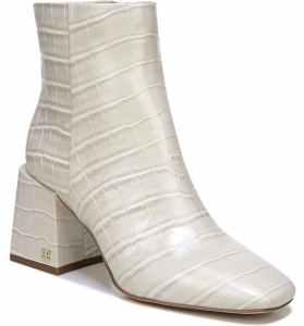 Nordstrom Anniversary Sale Best of What's Left Under $100 #NSale white blocked heel bootie sam Edelman