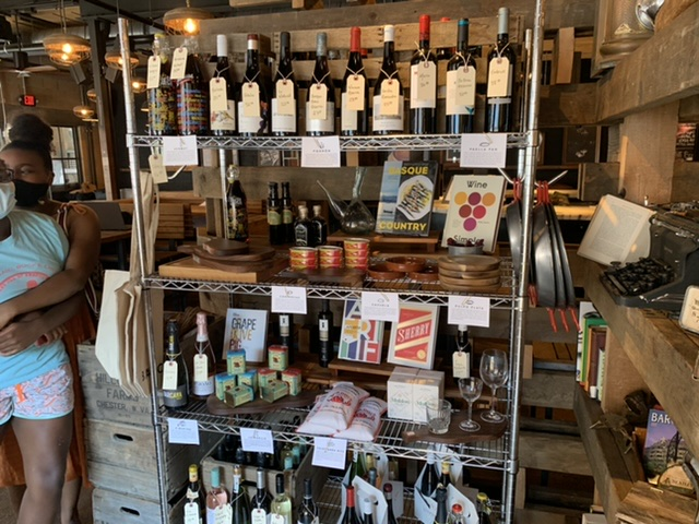 Barcelona wine bar east Passyunk philly retail area