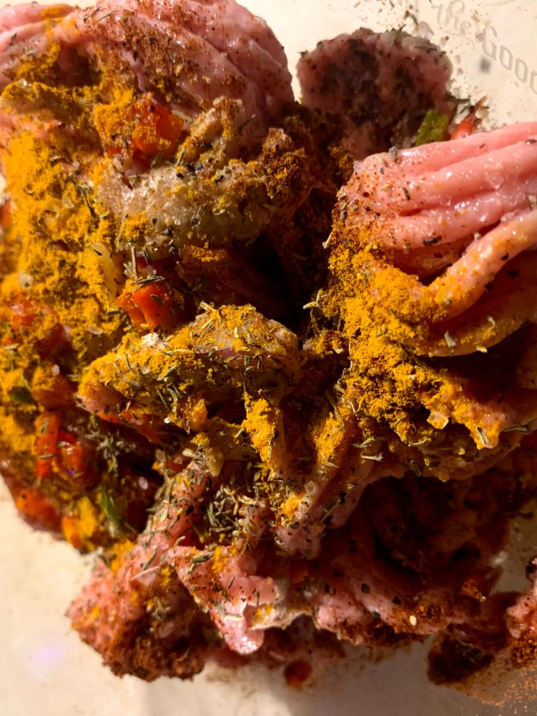seasoned organic ground meat for busy moms meal planning
