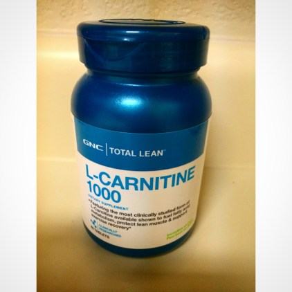 My Supplements: L-Carnitine Benefits