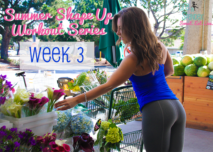 Life in Spandex Summer Shape Up Series Week 3