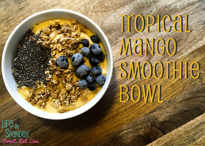 Tropical Mango Smoothie Bowl