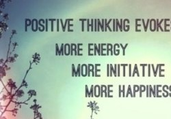 Always Think Positive in life