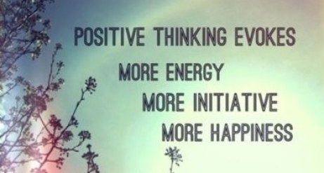 Thinking Positive in life