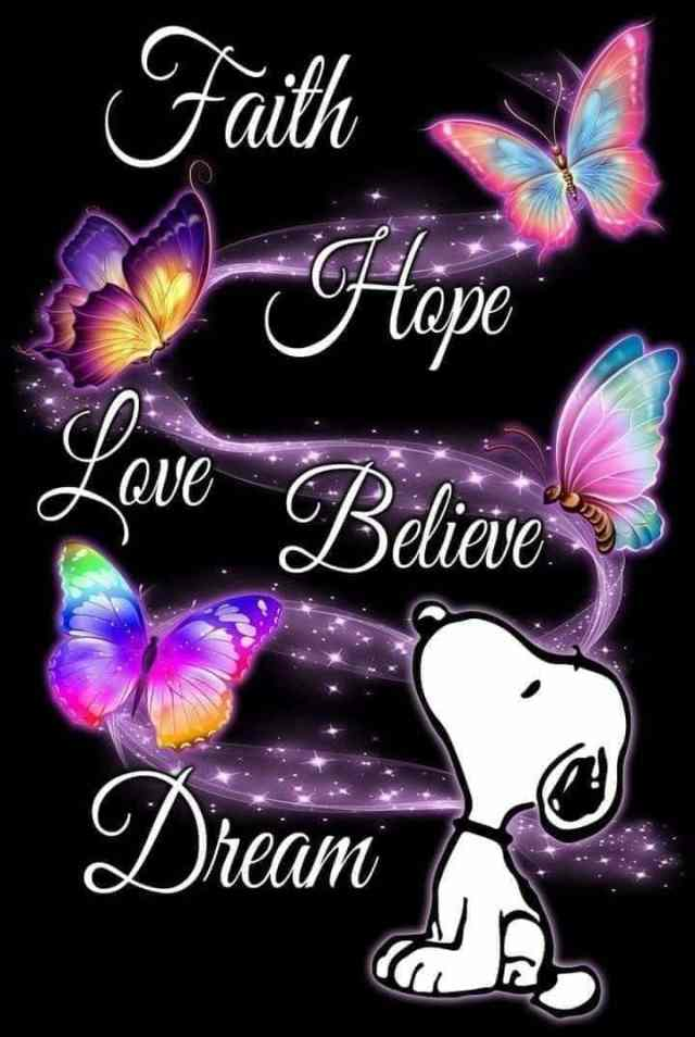 Have Faith, hope and love One Another