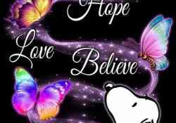 Have Faith hope and love One Another