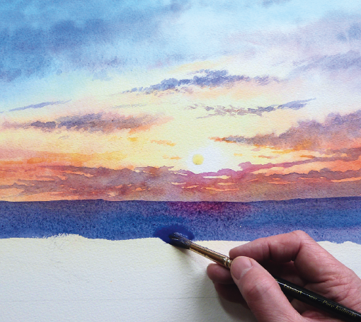 Watercolour Skies - Sunny & Stormy (2x sessions)