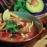 Slow Cooker Chicken Tortilla Soup-lifeintheboat.com-lifeintheboat.com