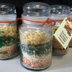 lentil soup gift jars for 4-H volunteers