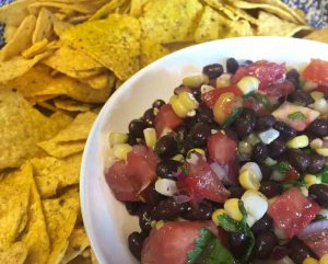 Grilled Corn and Black Bean Salsa