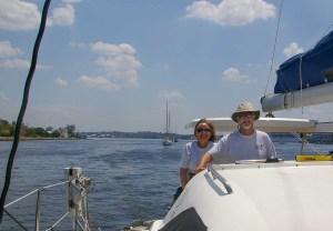 Cruising in Havana Harbor